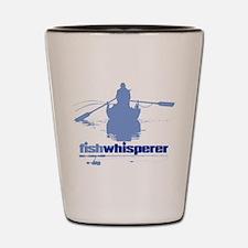 fishwhisperer Shot Glass