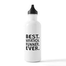 Best Marathon Runner Ever Water Bottle