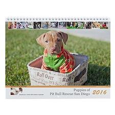 Pbrsd 2016 Puppy Wall Calendar