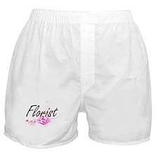 Florist Artistic Job Design with Flow Boxer Shorts