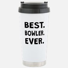 Best Bowler Ever Travel Mug
