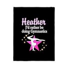 Pink Star Gymnast Twin Duvet