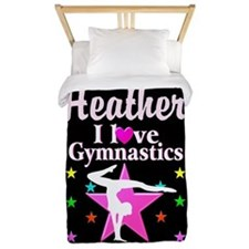Graceful Gymnast Twin Duvet