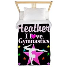 Graceful Gymnast Twin Duvet