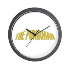 Pumaman Wall Clock
