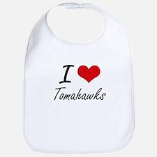I love Tomahawks Bib