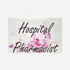 Hospital Pharmacist Artistic Job Design wi Magnets