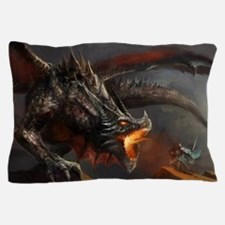 Dragon and Knight Pillow Case