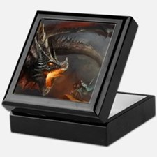 Dragon and Knight Keepsake Box