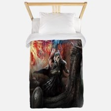 Dragon Viking Ship Twin Duvet