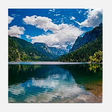 Mountain Valley Lake Tile Coaster
