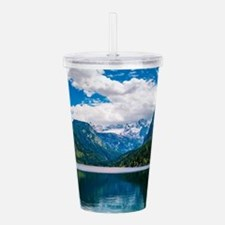 Mountain Valley Lake Acrylic Double-wall Tumbler