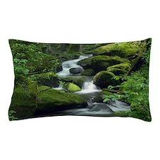 Summer Forest Brook Pillow Case