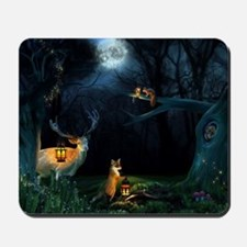 Magic Forest Wildlife Mousepad