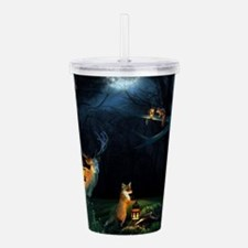 Magic Forest Wildlife Acrylic Double-wall Tumbler