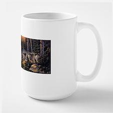 Forest Wolves Large Mug