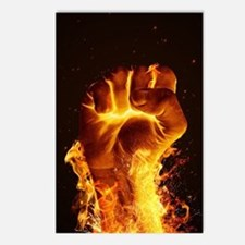 Fire Fist Postcards (Package of 8)