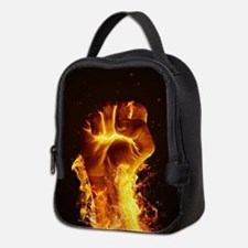 Fire Fist Neoprene Lunch Bag