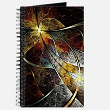Colorful Artistic Fractal Journal