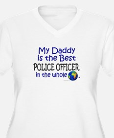 Best Police Officer In The World (Daddy) T-Shirt