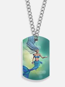 Enchanted Mermaid Dog Tags