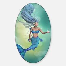 Enchanted Mermaid Sticker (Oval)