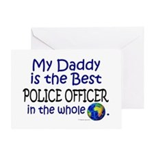 Best Police Officer In The World (Daddy) Greeting