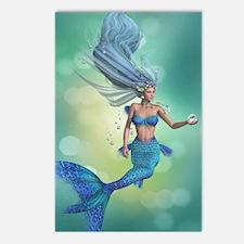 Enchanted Mermaid Postcards (Package of 8)