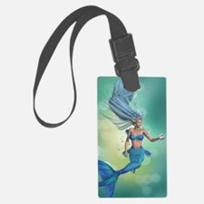 Enchanted Mermaid Luggage Tag