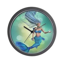 Enchanted Mermaid Wall Clock