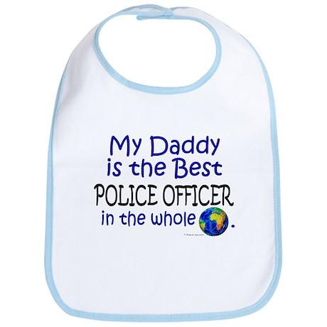 Best Police Officer In The World (Daddy) Bib