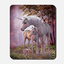 Enchanted Unicorns Mousepad