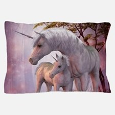 Enchanted Unicorns Pillow Case