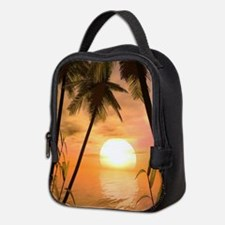 Tropical Sunset Neoprene Lunch Bag