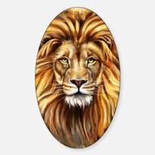 Artistic Lion Face Decal