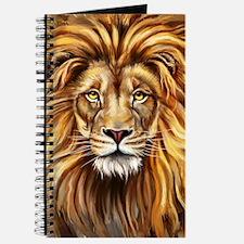 Artistic Lion Face Journal
