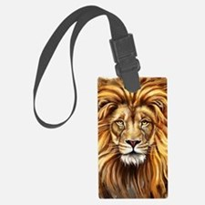 Artistic Lion Face Luggage Tag