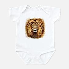 Artistic Lion Face Infant Bodysuit