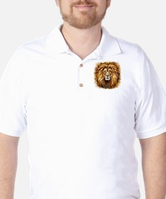 Artistic Lion Face T-Shirt