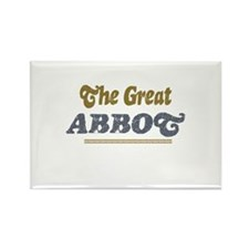 Abbot Rectangle Magnet