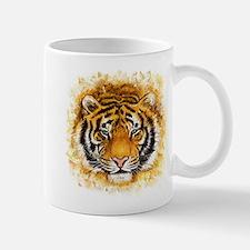 Artistic Tiger Face Mug
