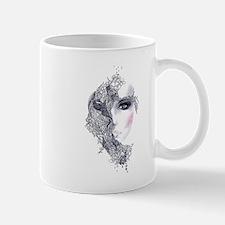 Artistic Female Head Mug