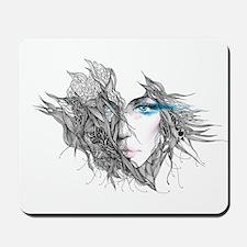Artistic Female Face Mousepad