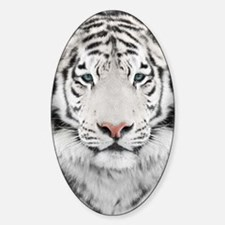 White Tiger Head Decal