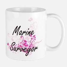 Marine Surveyor Artistic Job Design with Flo Mugs
