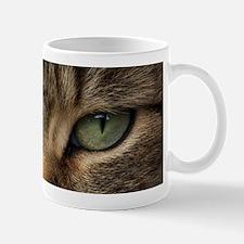 Tabby Cat Face Small Small Mug
