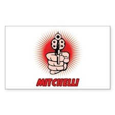 Mitchell Rectangle Decal