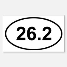 Funny 26.2 Decal