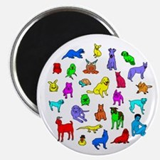 """nomss friends 2.25"""" Magnet (10 pack)"""