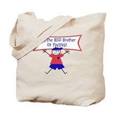 Big Brother of TWINS! Tote Bag